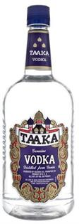 Taaka Vodka 80@ 1.00l - Case of 12